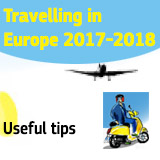 Travelling in Europe 2017-2018