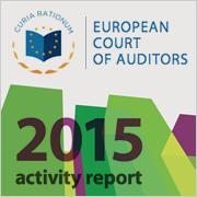Activity report 2015 Court of Auditors