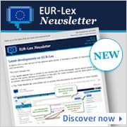 EUR-Lex Newsletter