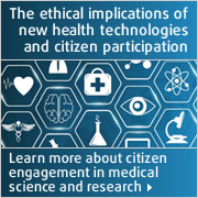 New health technologies and citizen participation
