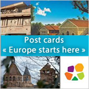 "Post cards ""Europe starts here"""