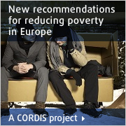 CORDIS project - New recommandations for reducing poverty in Europe