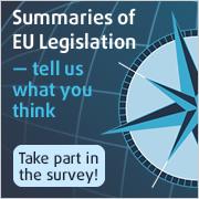 Summaries of EU legislagtion survey