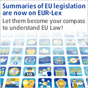 Summaries of EU legislation are now on EUR-Lex