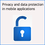 Privacy and data protection in mobile applications