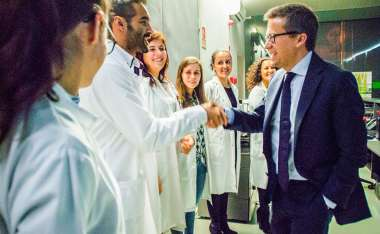 Image: Commissioner Carlos Moedas at the launch of the Science Roadshow at the University of Coimbra, Portugal, 5 November 2015. © European Union