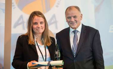 Image: Commissioner Vytenis Andriukaitis with one of the winners of the 2015 European Health Award, presented to non-governmental organisations that distinguished themselves during the Ebola emergency, Mondorf-les-Bains, Luxembourg, 12 October 2015. © European Union