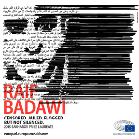 Image:The European Parliament awarded the Sakharov Prize for Freedom of Thought to Saudi Arabian blogger and human rights activist Raif Badawi.© Ullstein Buchverlage