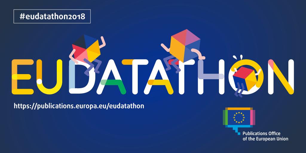 EU Datathon 2018 promotion