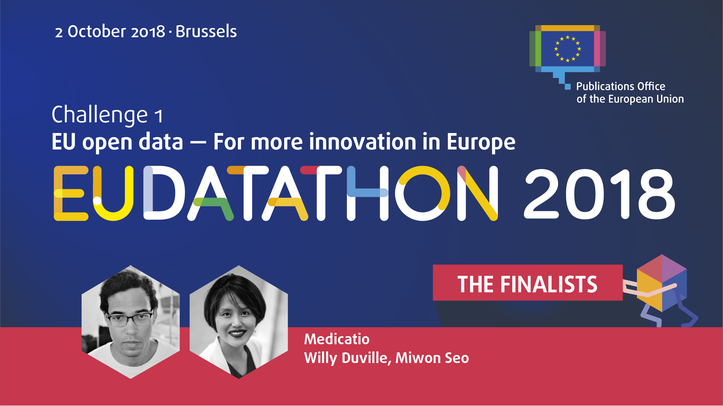 EU Datathon 2018 images for all challenges