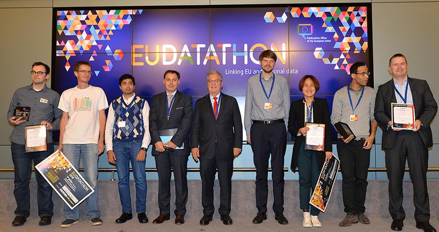 EU Datathon 2018 the winners