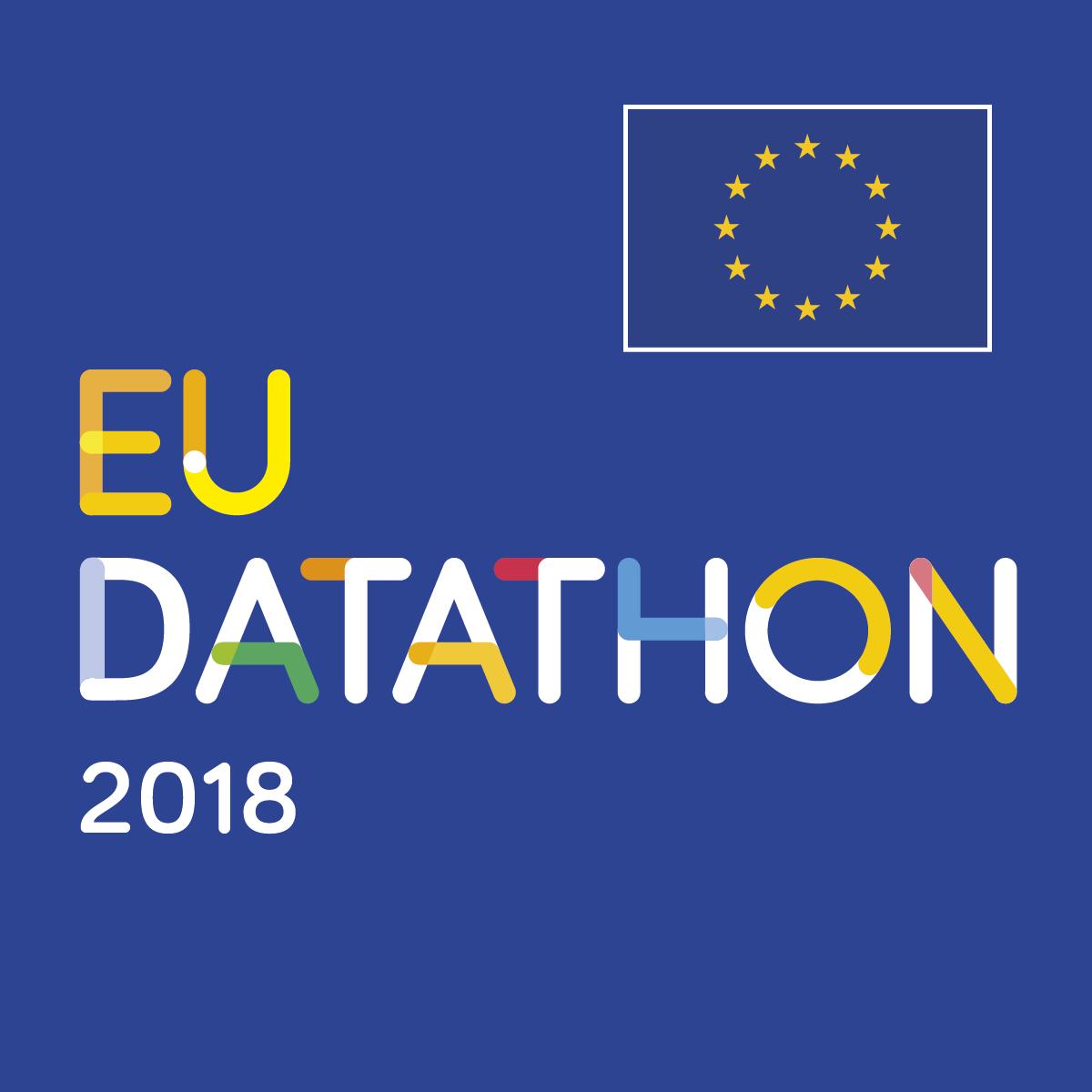 EU Datathon 2018 squared image