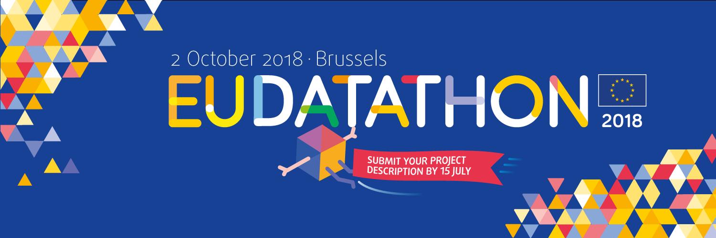 EU Datathon 2018 submission banner