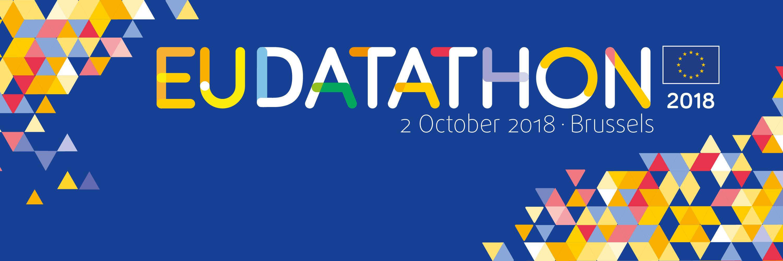 EU Datathon 2018 Twitter banner