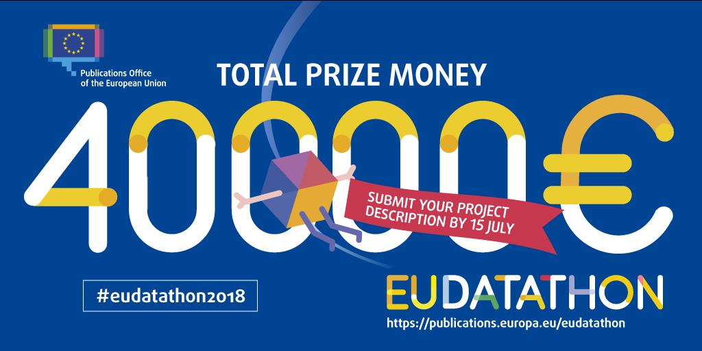 EU Datathon 2018 prize money