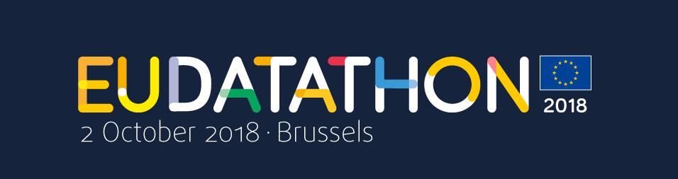 EU Datathon 2018 banner black