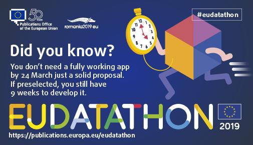 EU Datathon 2019 clock