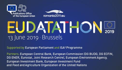 EU Datathon 2019 partners of the event small