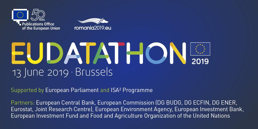 EU Datathon 2019 partners of the event