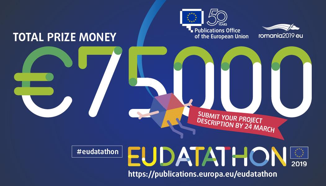 EU Datathon 2019 prize money