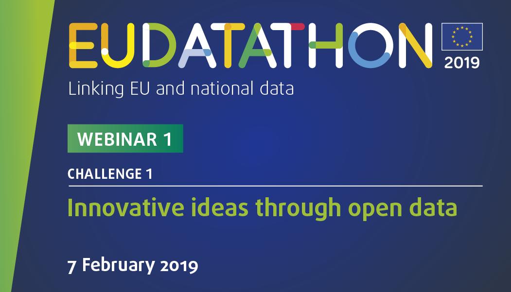 EU Datathon 2019 webinar 1