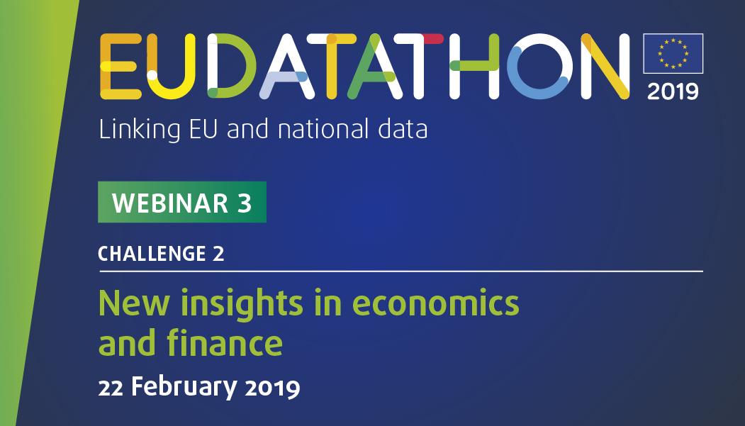 EU Datathon 2019 webinar 3