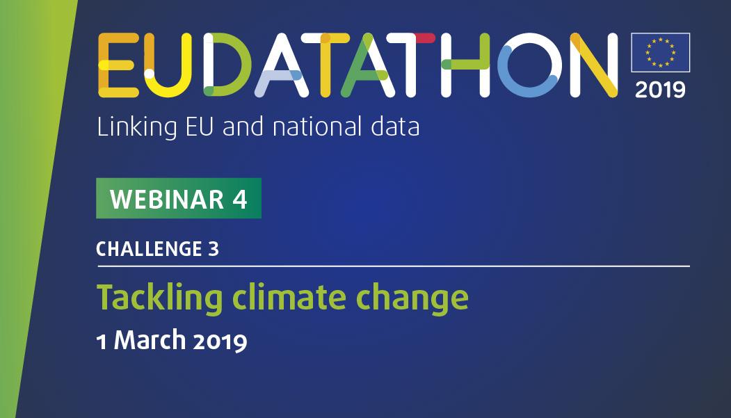 EU Datathon 2019 webinar 4