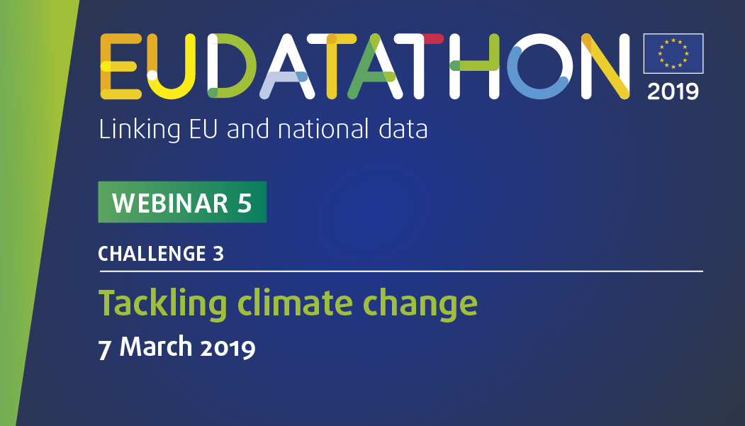 EU Datathon 2019 webinar 5