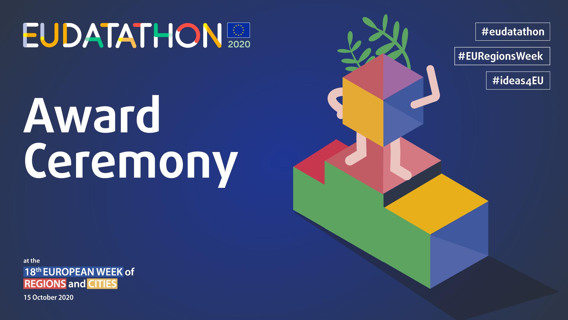 EU Datathon 2020 award ceremony