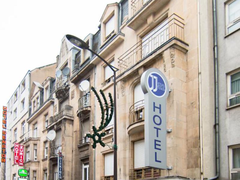 Hotel JJ32 Centre Gare Luxembourg