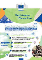 The European climate law - Publications Office of the EU
