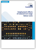 Employment effects of reduced non-wage labour costs