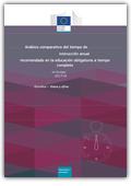 Análisis comparativo del tiempo de instrucción anual recomendado en la educación obligatoria a tiempo completo en Europa
