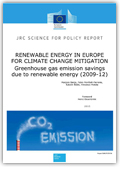 Renewable energy in Europe for climate change mitigation