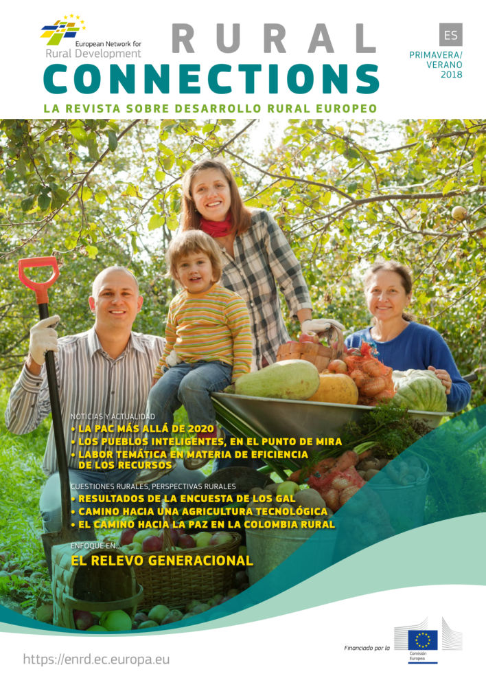 Rural connections. La revista sobre desarrollo rural europeo. Primavera/verano 2018