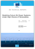 Modelling future EU power systems under high shares of renewables