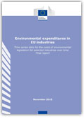 Environmental expenditures in EU industries
