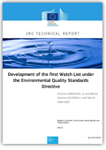 Development of the first watch list under the environmental quality standards directive