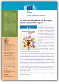 La profesión docente en Europa. Acceso, progresión y apoyo