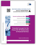 Potential concepts for the future EU-UK relationship in financial services