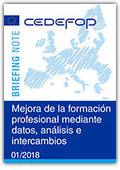 Mejora de la formación profesional mediante datos, análisis e intercambios