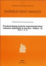 Practical Design Tools for Unprotected Steel Columns Submitted to ISO-Fire - Refao III