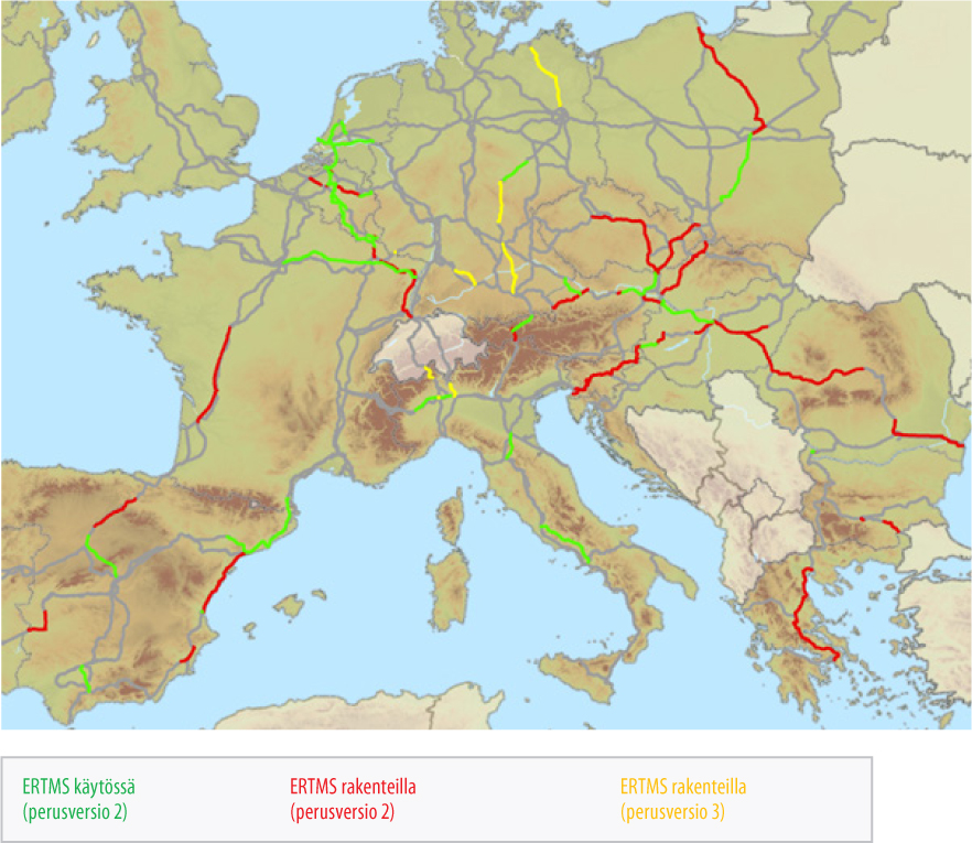 Erityiskertomus 13 2017 Yhtenainen Euroopan Rautatieliikenteen
